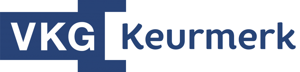 VKG Keurmerk logo zonder payoff
