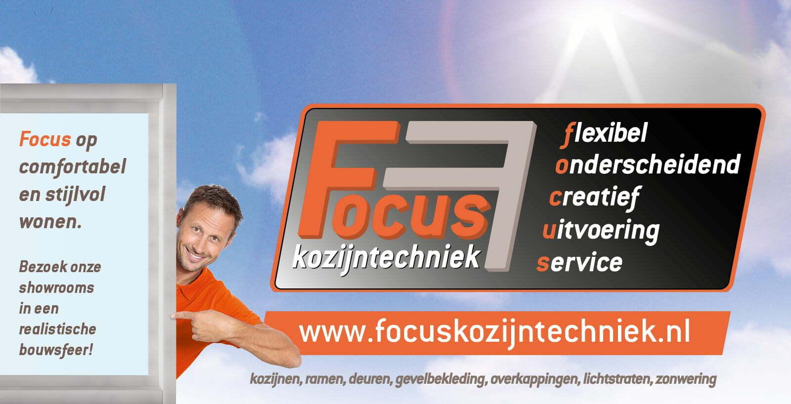 Focus kozijntechniek