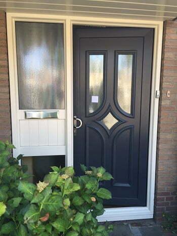 makrozijn voordeur